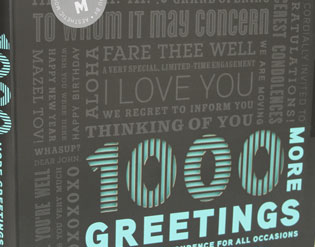 "Detail of ""1000 More Greetings"" by Rockport Publishers"