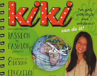 "Detail of ""Kiki"" magazine"