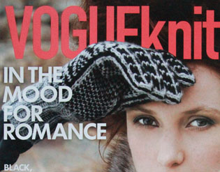 Vogue Knitting featuring the Dead Feminists
